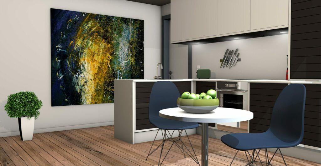 Americkou hypotéku je možné využít například na nové vybavení do domácnosti.