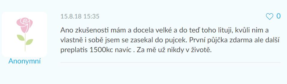 Recenze Zaplo půjčky na webu emimino.cz.