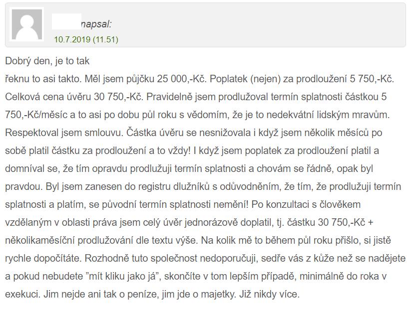 Recenze Zaplo půjčky na webu pujcko.cz.