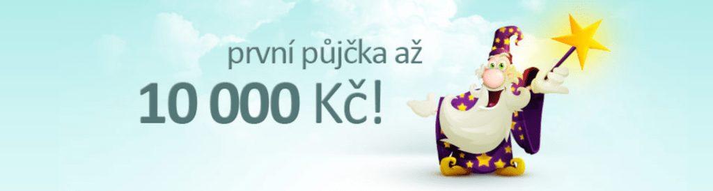 První Kouzelnou půjčku lze sjednat až do výše 10 000 Kč s dobou splatnosti až 30 dní. Peníze jsou odesílány na účet ihned po schválení žádosti.